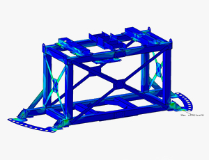 Proof of structural integrity with finite element analysis